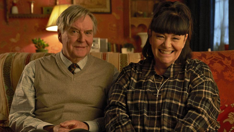 James Fleet and Dawn French on The Vicar of Dibley