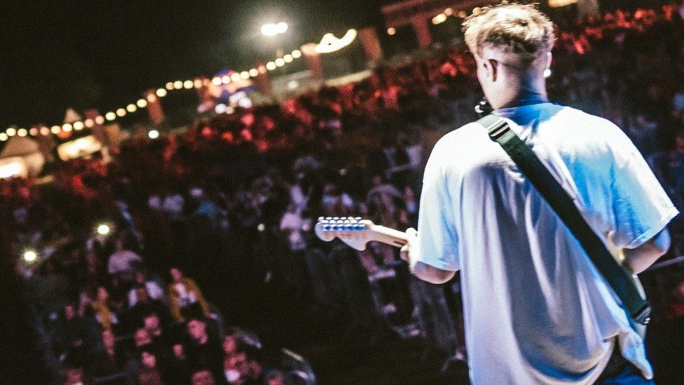 Sam Fender performed at the SSD Concerts-promoted outdoor Virgin Money Unity Arena last summer