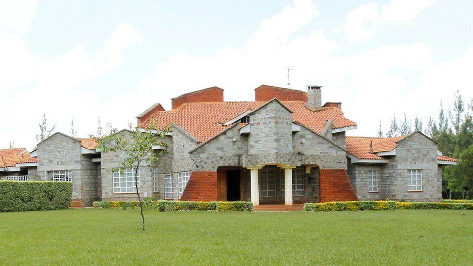 Ruto's home in Sugoi