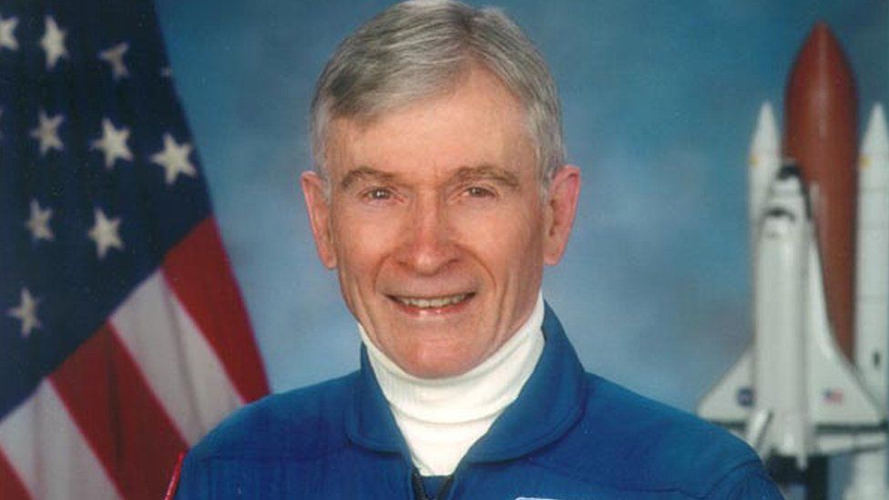 US astronaut John Young in 2009