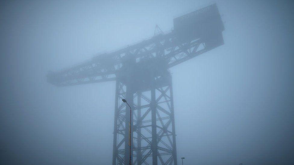 Fog in Glasgow