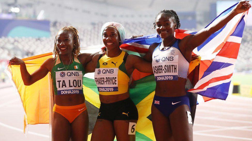 Athlétisme : Marie-Josée Ta Lou remporte le bronze pour le 100 m