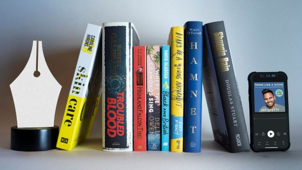 Winners at the Book of Year awards