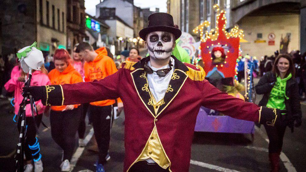 Paisley Halloween Parade