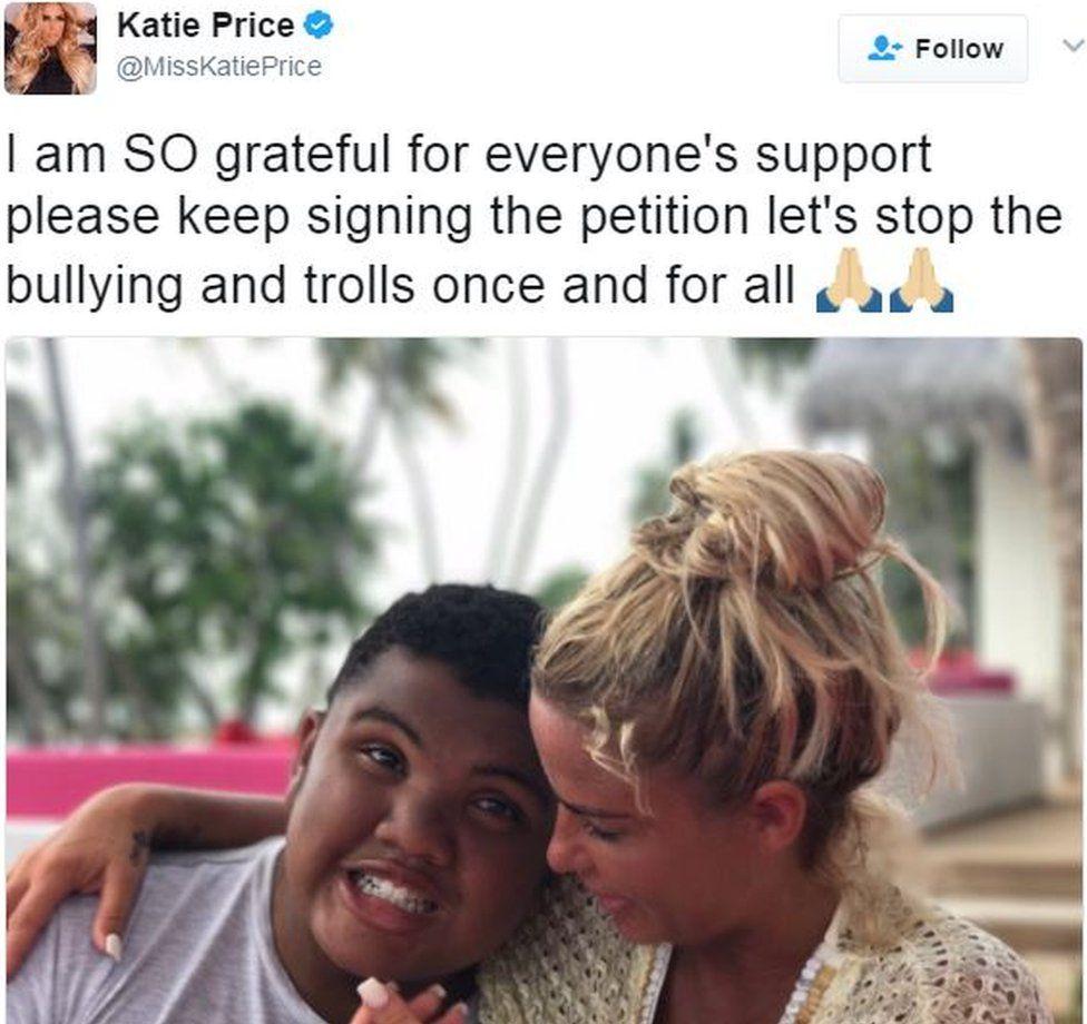 Katie price and Harvey