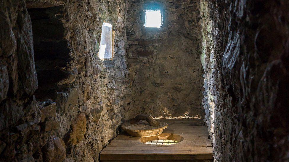 Castle toilet