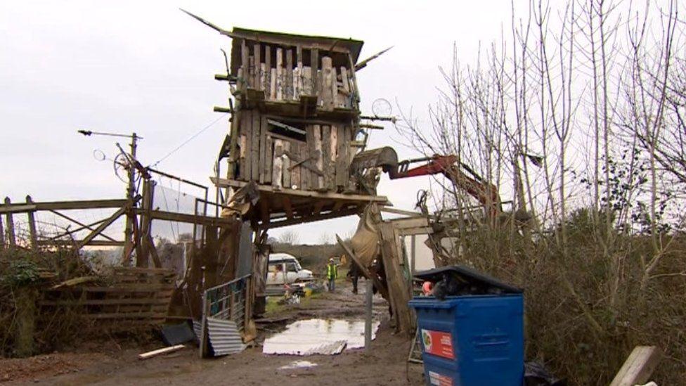 Yorkley Farm eviction