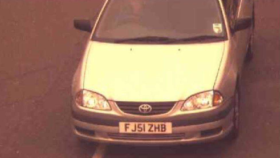 Image of Mark Barrott's car