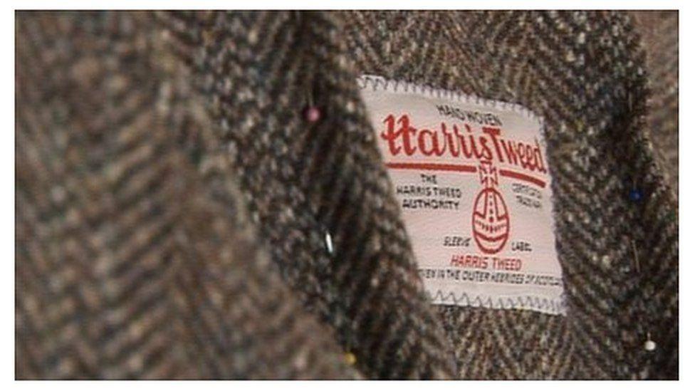 Harris Tweed label