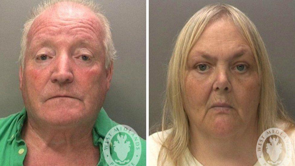 Keith Potts, 67, and Julie Potts, 60