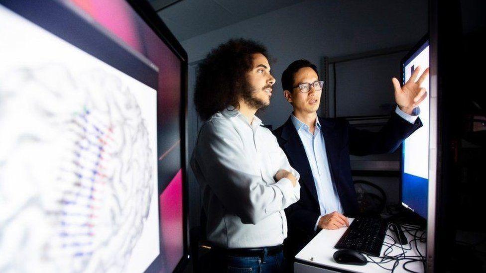 Eddie Chang (right) and David Moses