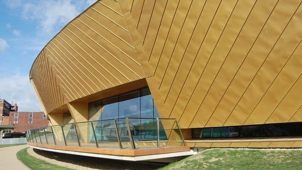 Exterior of the firstsite visual arts centre in Colchester