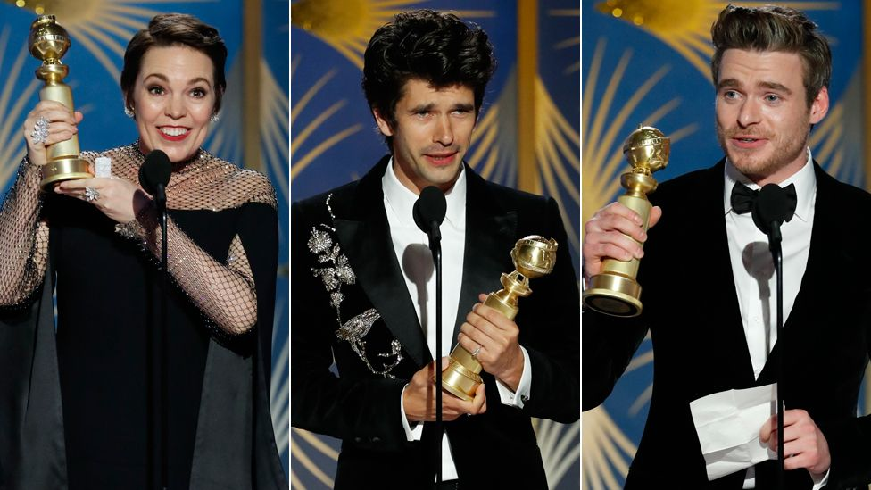 Olivia Colman, Ben Whishaw and Richard Madden