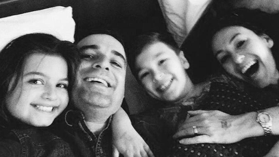 Ella, Paul, Louis and Emma
