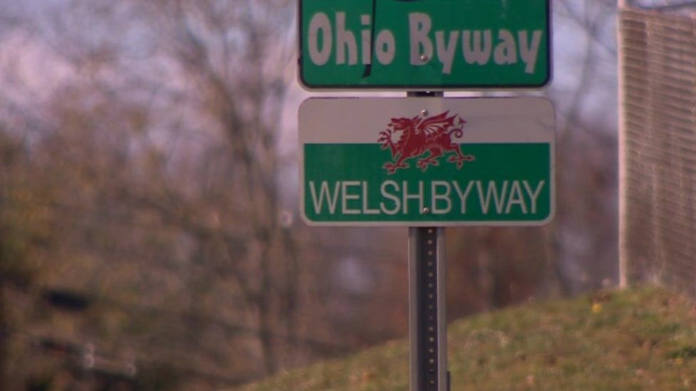 A Welsh sign in Ohio