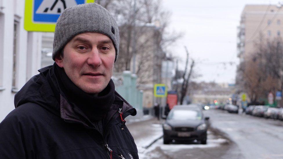 BBC Russian's Oleg Boldyrev in Moscow