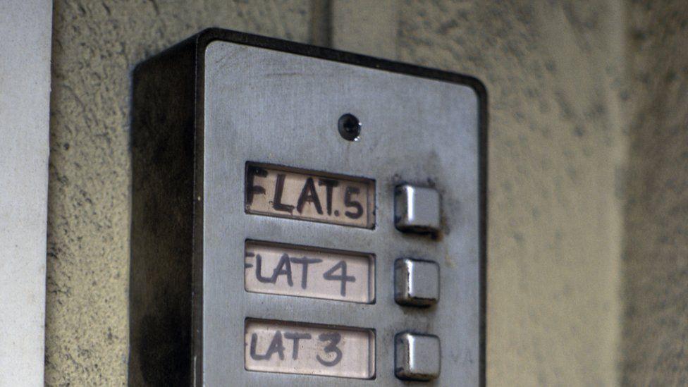 Flat door bells