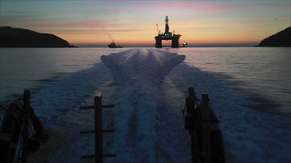 Rig on Cromarty Firth