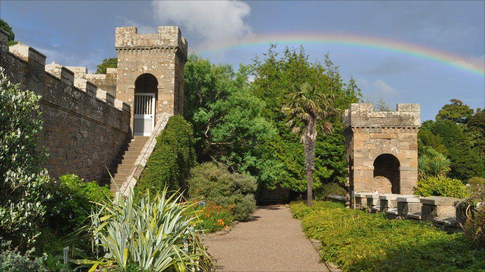 Rainbow at Culzean Castle