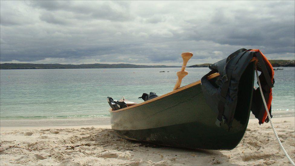 boat at Little Bernera