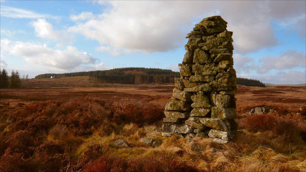 Remains of a cairn