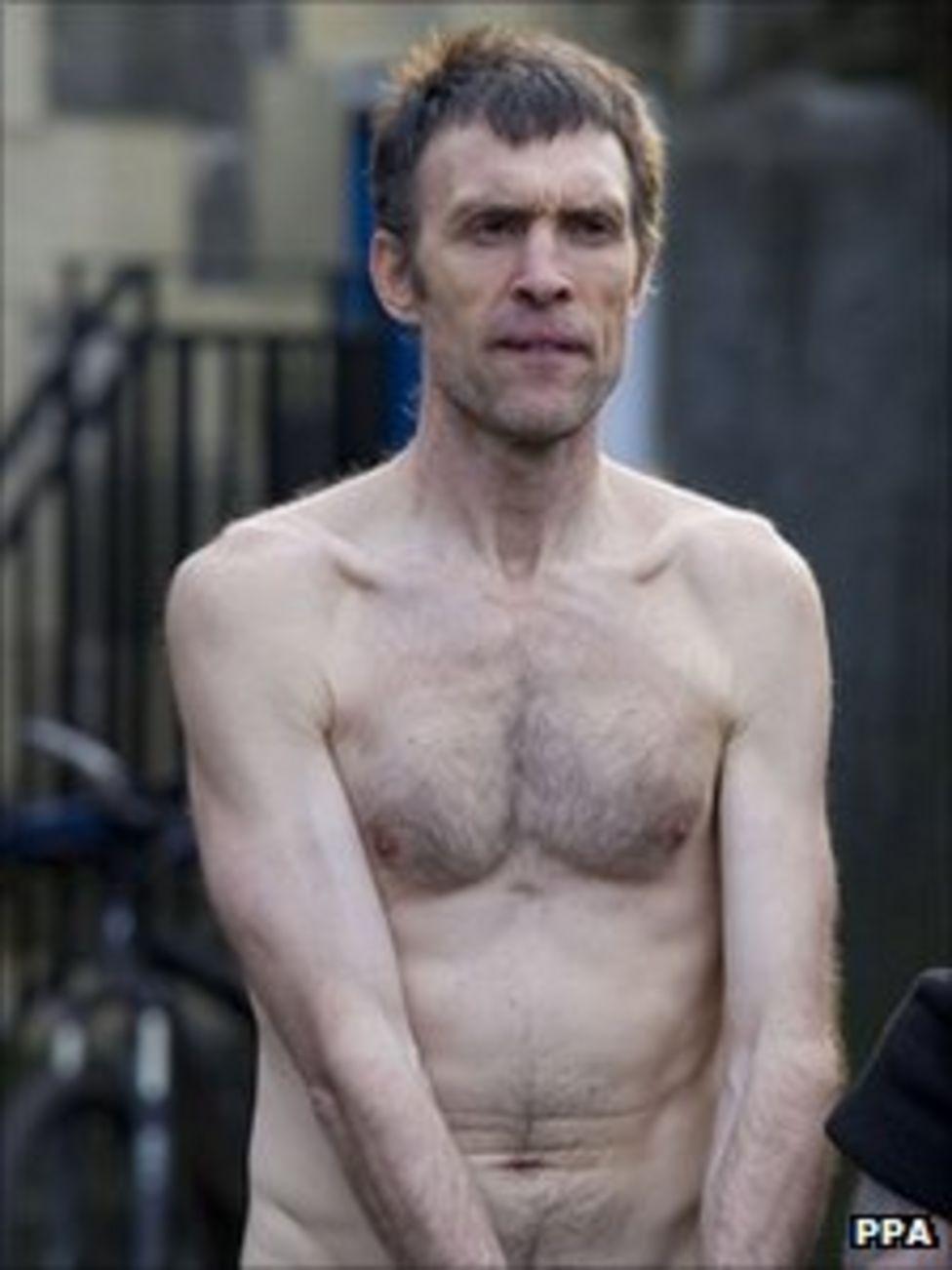 Naked Rambler Stephen Gough Makes His Way South Following