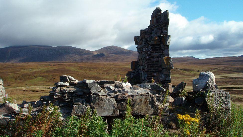 Ruins of Geldie Lodge