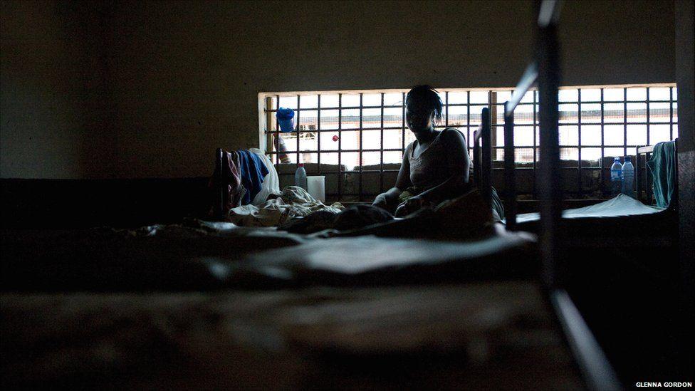 The women's section at Liberia's Monrovia Central Prison, 2011