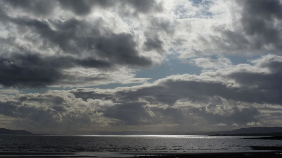 Sky over the Isle of Bute