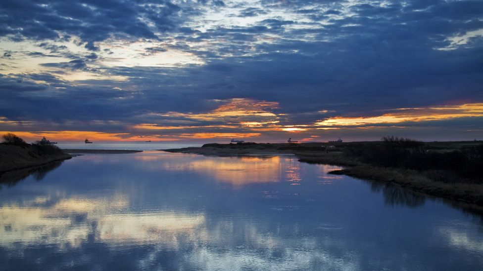 Sunrise over the Don Estuary