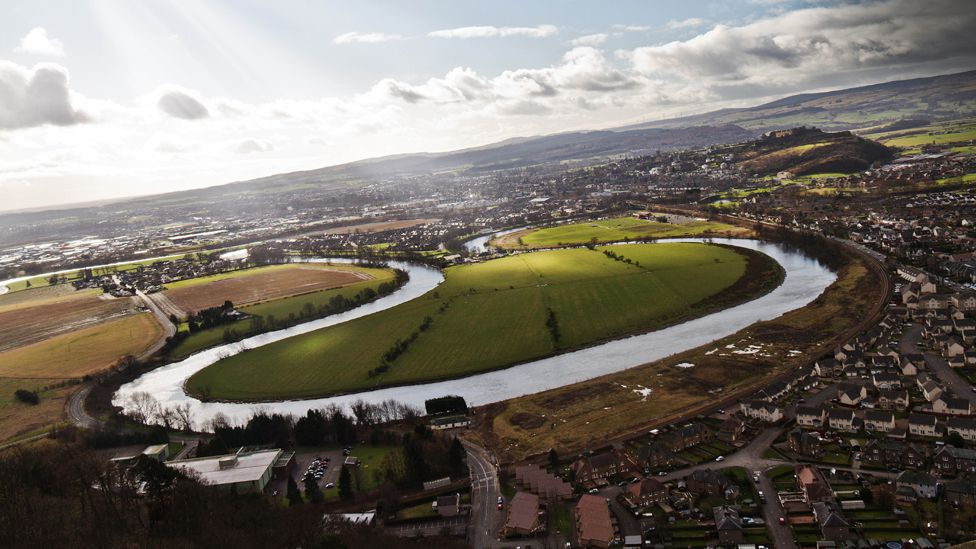 Stirling and the River Forth