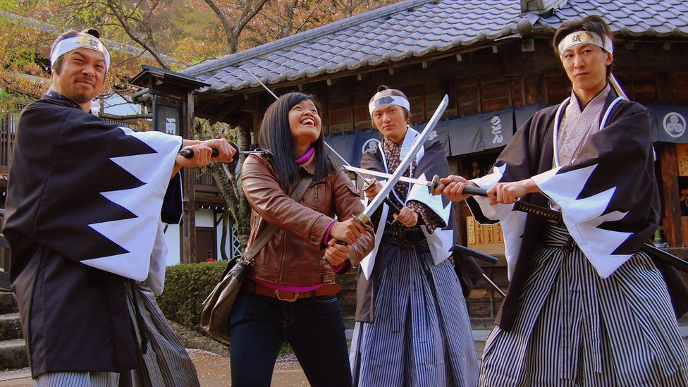 Samurai in Nikko