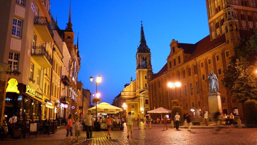 Torun town
