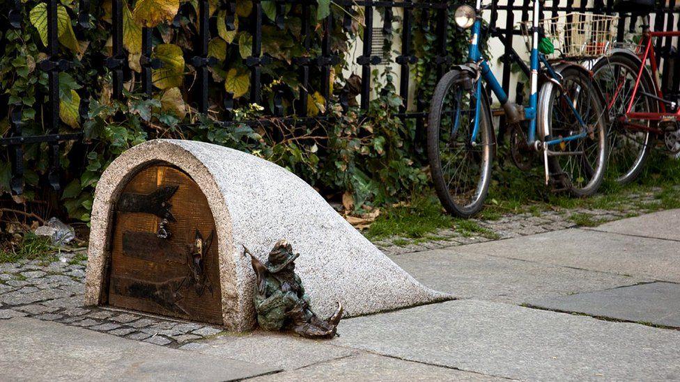 Gnome in Wroclaw
