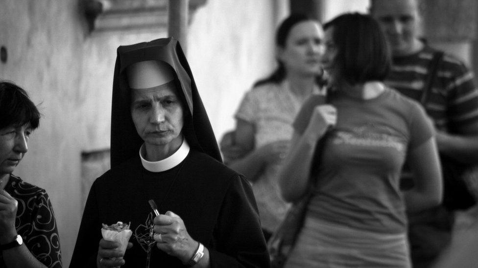 Nun in Krakow