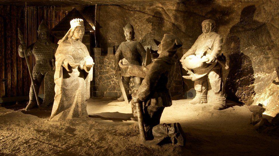 Wieliczka Salt Mine in Poland, Unesco World Heritage Site