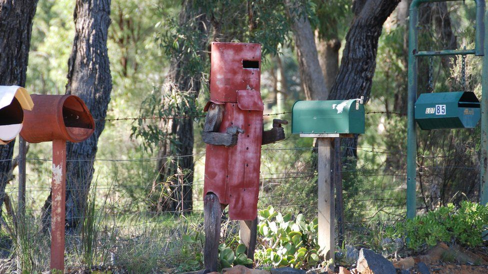 Ned Kelly postbox