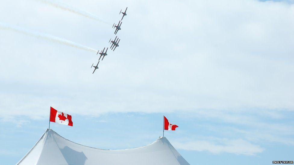 Canadian Snowbirds