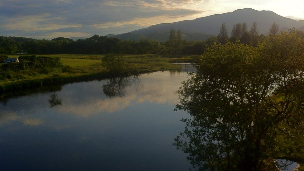 Ben Ledi and the River Teith