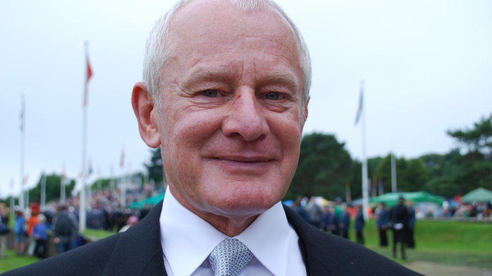 Allan Bell at Tynwald Day