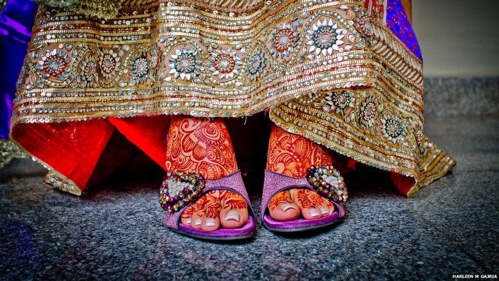 Bridal footwear