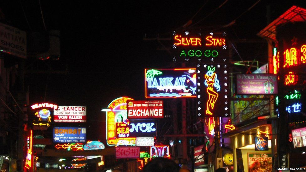 Pattaya city.