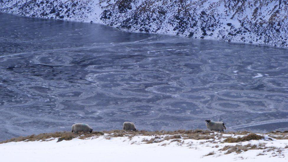 Lochan na Lairige Reservoir