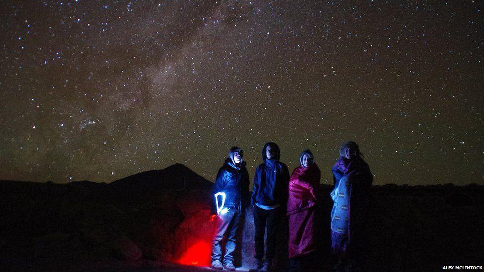 Friends in Bolivia