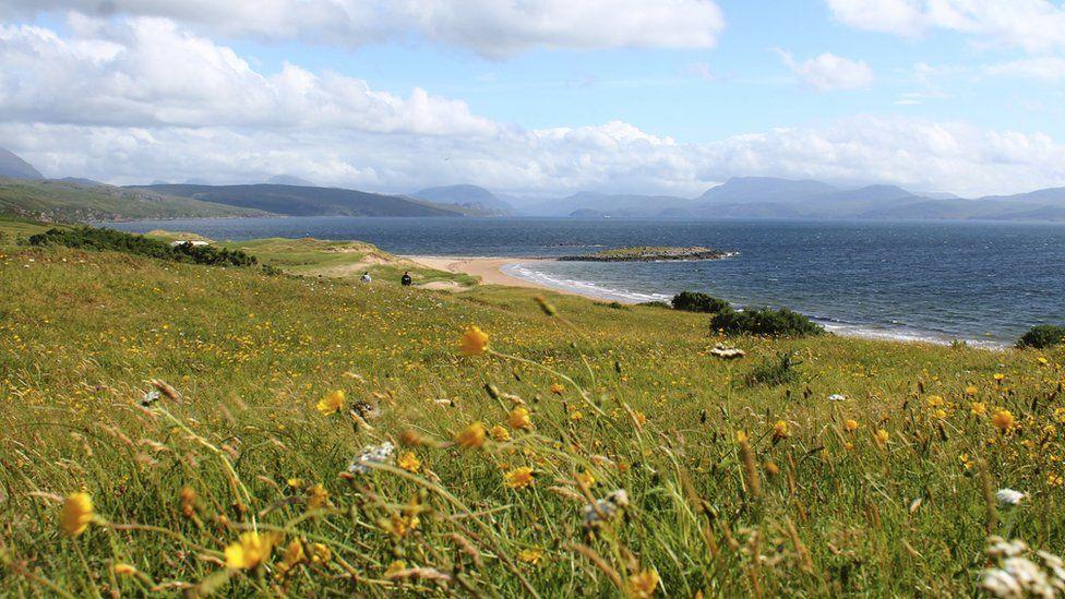 South Erradale beach
