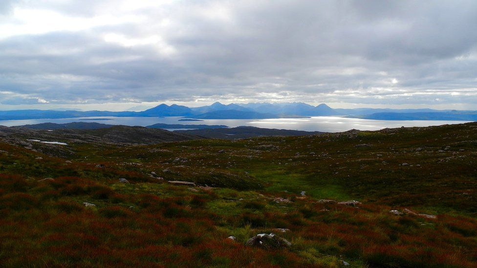 Mountains on the Isle of Skye