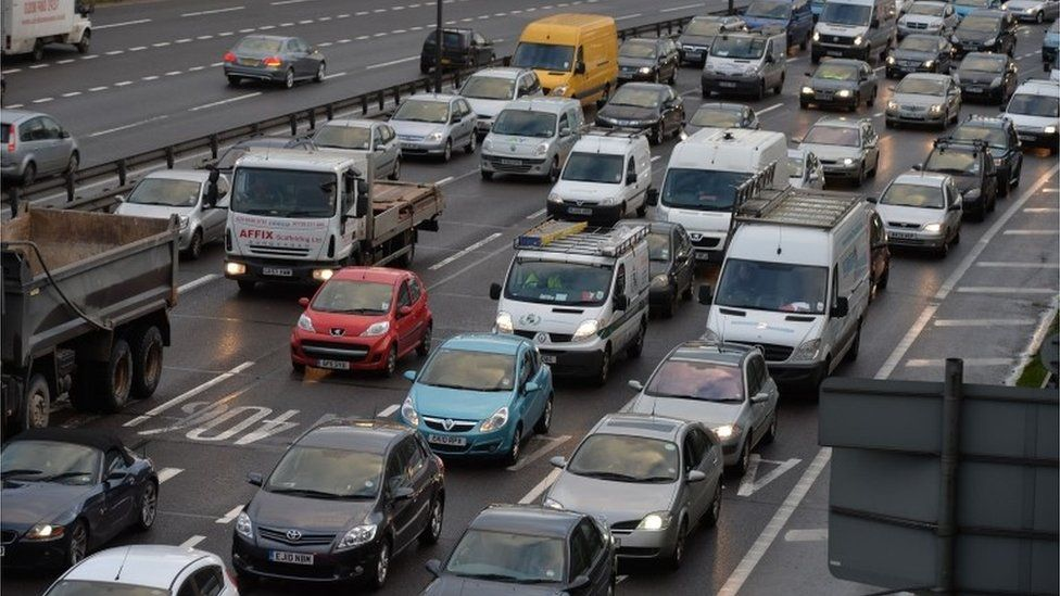 Congestion on the North Circular