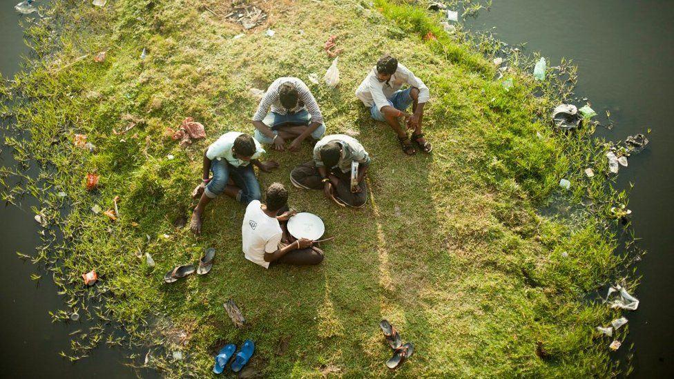 People drumming in Chennai