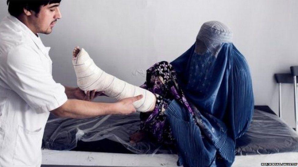 Staff treat victims of general trauma