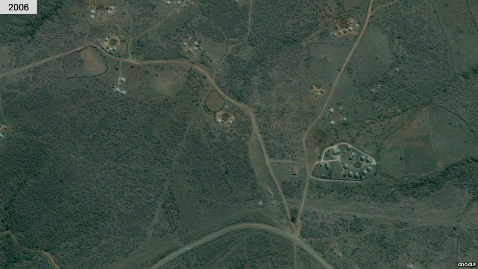 Nkandla in 2006